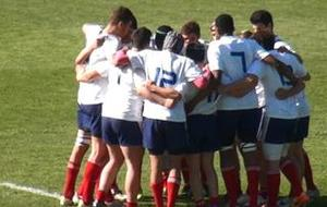 France U16 à Wellington (avril 2014)