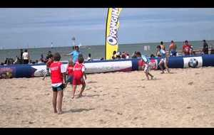 Beach Rugby Tour 2013... un match Ados