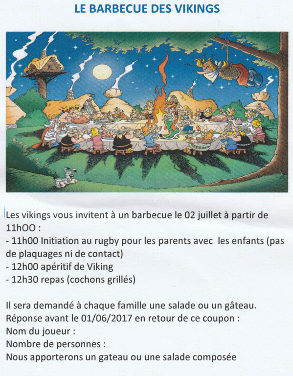 Barbecue des Vikings